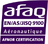 Certification AFNOR EN/AS/JISQ 9001 - Aéronautique